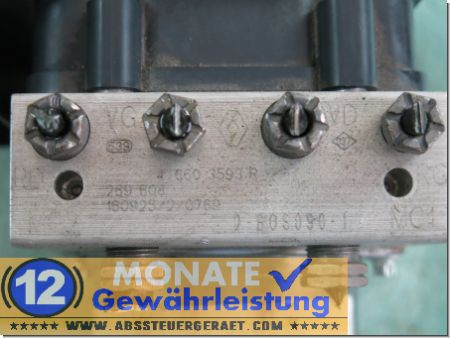 Centralina ABS 476603593 0265254802 0265956149 Renault Master Opel Movano