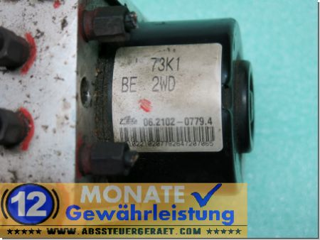 ABS Block Steuergerät 73K1 BE 2WD 06210207794 Ate 06210952023 Suzuki Swift