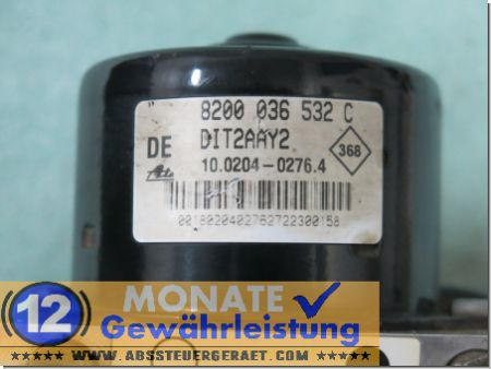 Pompa ABS 8200036532-C 10020402764 Ate 10.0946-1403.3 Renault Master
