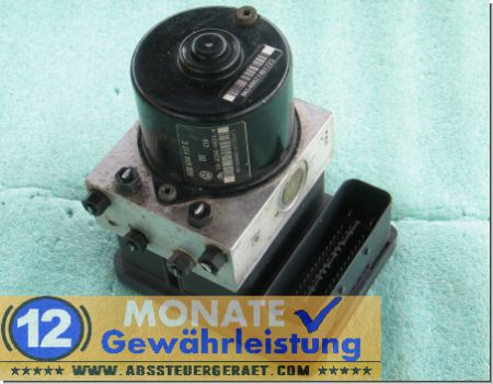 ABS Unit 6Q0614117C VW Polo 6Q0-907-379-E 10020600214 Ate 10.0960-0322.3