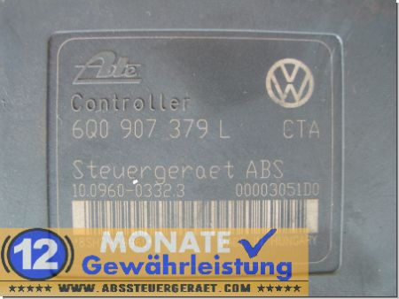 6Q0614117H 6Q0907379L ABS VW Polo