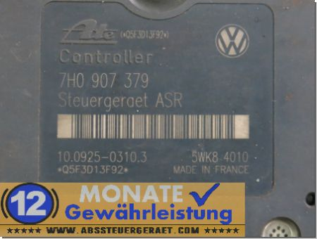 Centralina ABS 7H0614111 7H0907379 10020403104 Ate 10092503103 VW T5