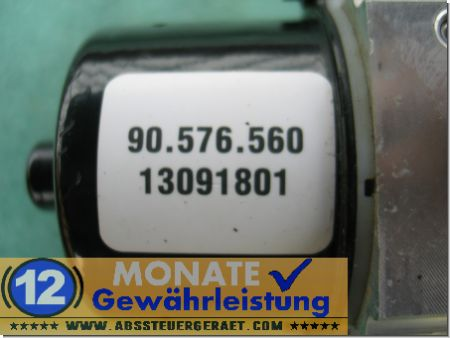 Bloc hydraulique ABS calculateur 13091801 90576560 Opel Vectra
