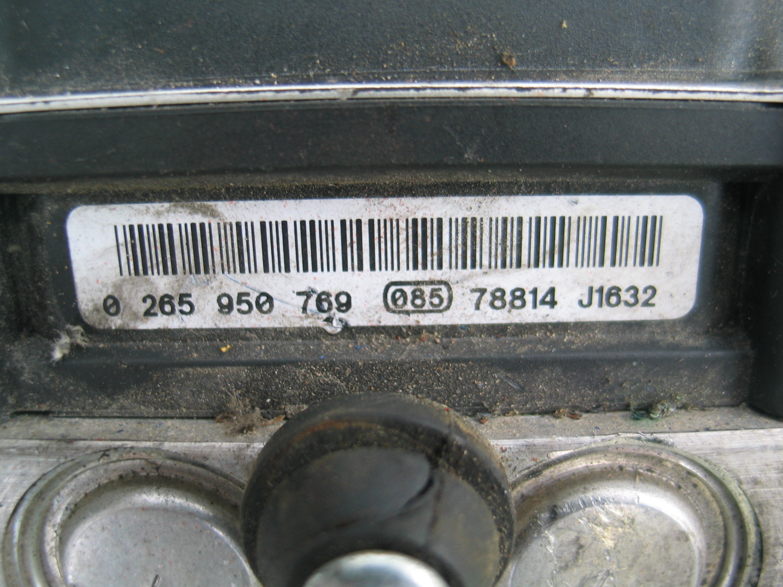 Modulo Abs  Esp Grande Punto Fiat 51798105 0265235432 Bosch 0265950769