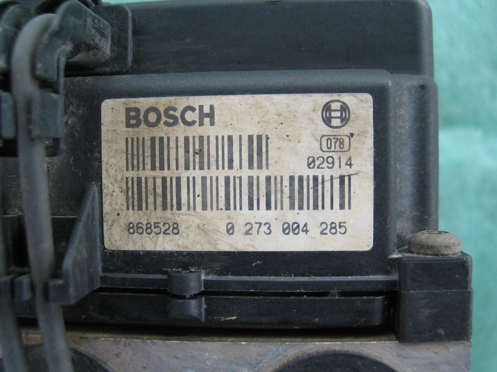 ABS Steuergerät Audi A4 0265220411 8E0614111C 0273004285