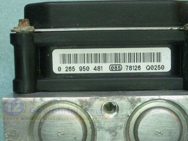 ABS Aggregat A0014462589 0265235031 0265950481 Mercedes Sprinter VW Crafter