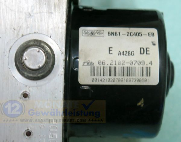 Bloc ABS Calculateur 6N61-2C405-EB 06210207094 Ate 06210909833 Mazda 3