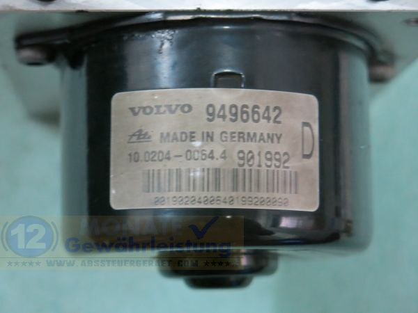 Pompe ABS 9496642 10.0204-0064.4 9496643 Ate 10094704043 Volvo S80