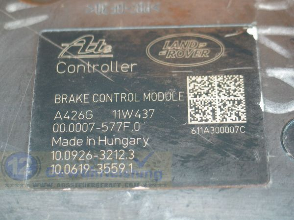 ABS Block BH522C405AA 10.0212-0559.4 10092632123 Land-Rover Freelander 2